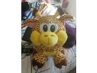 Large giraffe teddy