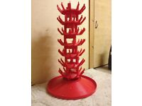 Wine/beer bottle drying rack for home brewing