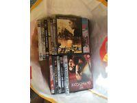 Bag of 40 DVDs