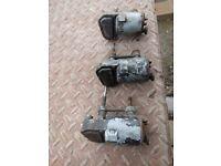 Vintage wiper motors