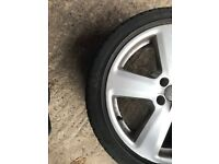 4 Alloy Wheels and Tyres for Audi A6