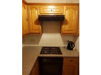 Kitchen cupboards, doors and worktop