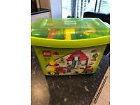 Lego Duplo box of bricks