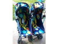 Cosatto double pushchair buggy pram