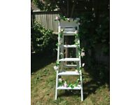 Tall Vintage wooden ladder