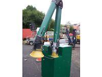 Fume extractor welding fume extractor