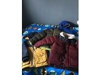 Boys warm jacket bundle