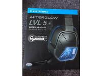 Afterglow LVL5+ headset for ps4