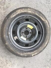 Spare wheel, needs new tyre