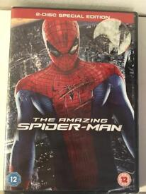 The Amazing Spider-Man 2 disc DVD special edition
