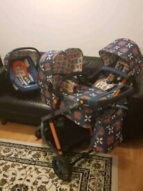 Cosatto Giggle 2 Pushchair - Toodle Pip - Travel System