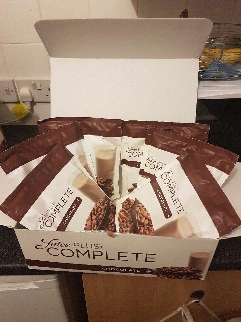 7 Pouches Juice Plus Shakes (chocolate)