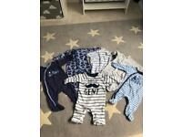 Mothercare up to 1 Month Baby Boy Bundle