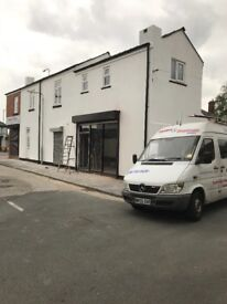 Ground floor shop to let in farnworth fully refurbished include shopfront new shutters cheap rent