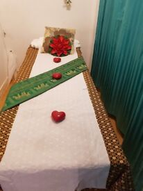We offer thai traditional. Thai massage with aroma oil x