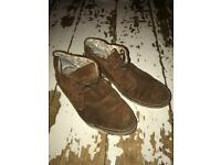 Men's Peter Werth Suede Boots Size 9.5