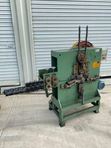CHANNEL WELD SMALL SQUARE CHAIN LINK BENDING MACHINE