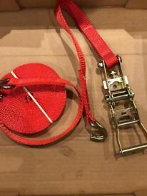 Heavy duty ratchet straps 1.5 tone