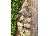 FREE Rockery Rocks some with granite