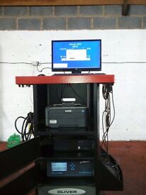 Oliver 9500 MOT Spec Gas/Smoke Analyser Petrol AND Diesel