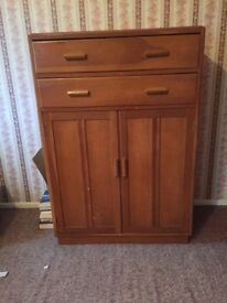 Solid wood Tallboy unit