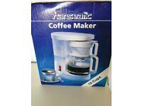Hanseatic 12 Cup Coffee Machine As New & Boxed In Original Packaging