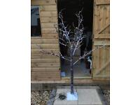 Snow Covered LED Tree