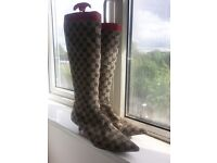 Gucci Designer Vintage Ladies Boots- size 40.5 UK
