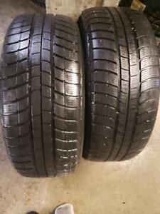 2 winter tires Michelin pilot alpin pa2  225/55r16  SPECIAL SPECIAL!
