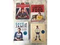 4 Jamie Oliver Cookbooks