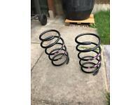 Genuine bmw front suspension springs