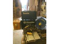110 volt planer, drill, transformer and cables