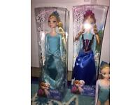 Frozen Anna and Elsa doll new in packaging