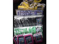Box of iPhone iPod 4 touch silicone gel cases