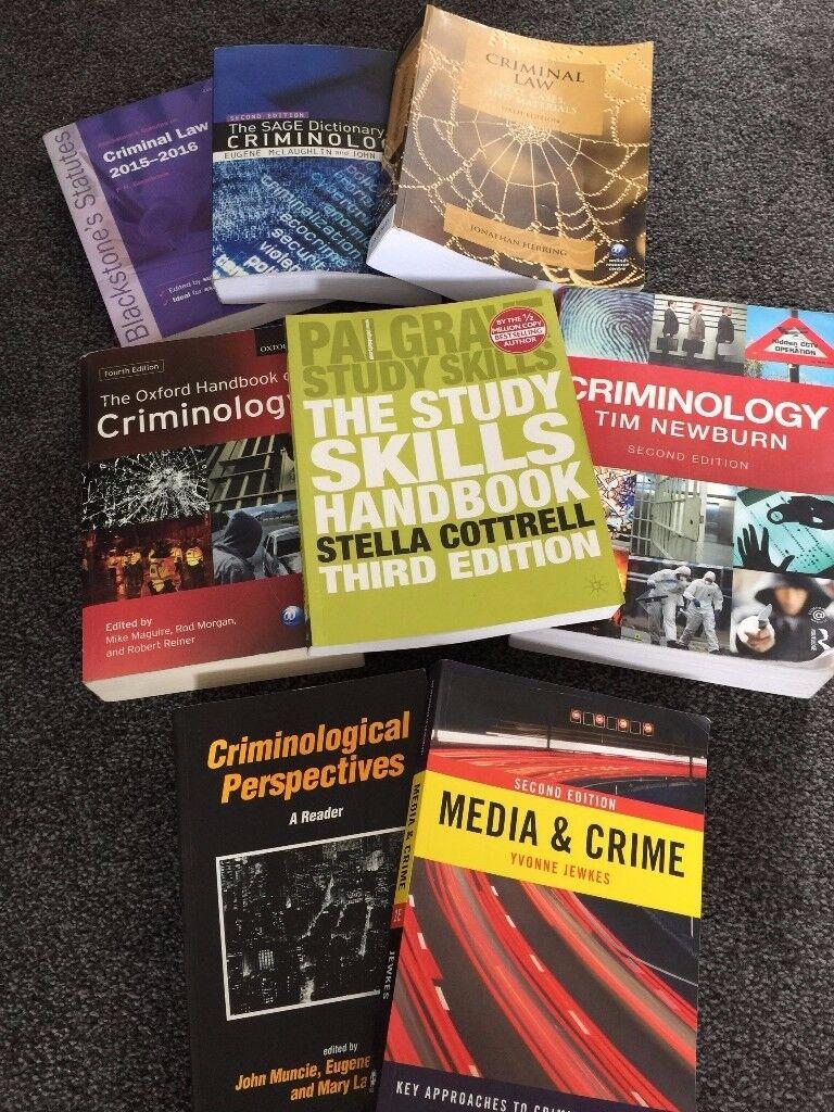Criminilogy Books Ideal for University Students