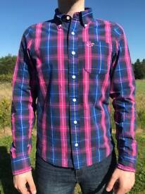 Vintage Hollister Blue & Pink Chequered Shirt