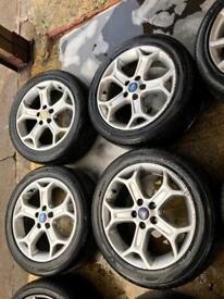 """17"""" GENUINE FORD MONDEO GALAXY FOCUS CONNECT ALLOY WHEELS SET OF 4"""