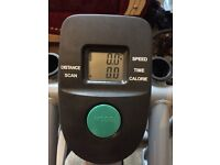 Cross trainer bike with 120kg max user weight