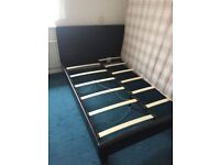 Leather Slay bed Double bed