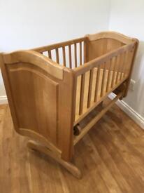 Mothercare Baby Swinging Crib