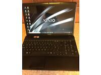 Sony Vaio Windows 10 & office Laptop
