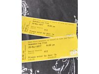 2 Tickets to 'Remembering Fred' at Eden Court
