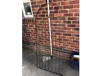 Tall metal gate
