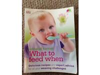 Annabel Karmel 'What to feed when' weaning book