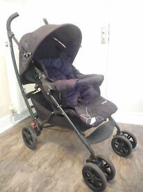Mothercare curv pram with accessories