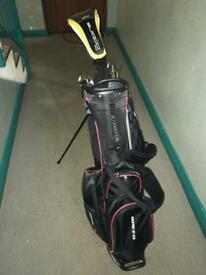 Golf club and bag