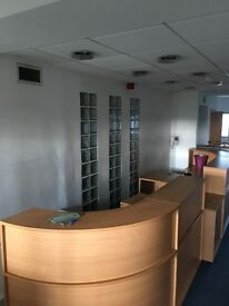 Reception desk is available for collection at 80 ST Vincent St, Glasgow. Please contact me