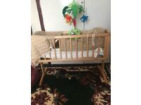 Baby mother care swing cot complete with everything