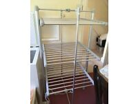 3 tier heated airer electric clothes drying rack
