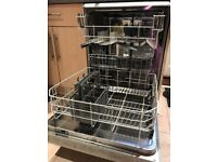 Beko Single Standing Silver Dishwasher